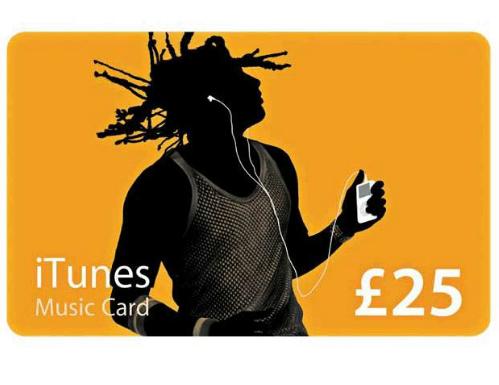 Win: £25 iTunes Music Card