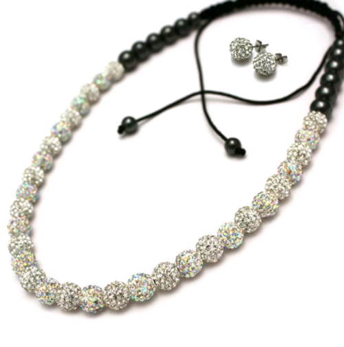 Win: Shamballa Necklace and Earrings