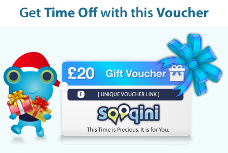 Win: £20 Sooqini Time Off Voucher
