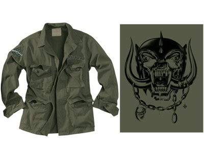 Win: Motorhead Military Jacket