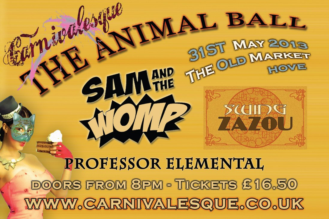 Win: 2 x Sam and the Womp Tickets
