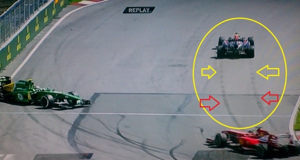 Webber's Traction Control?